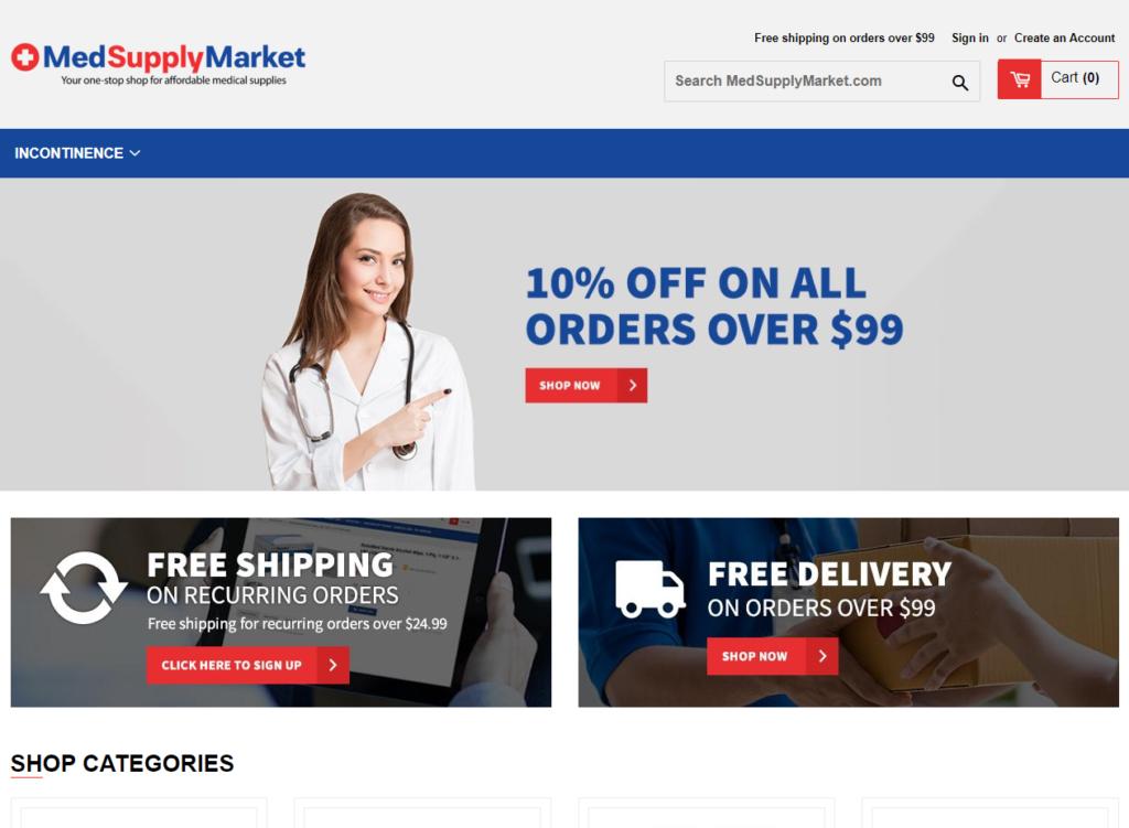 MedSupply Market
